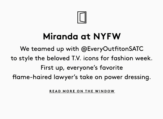 What to wear, eat, visit, and shop during NYFW, according to Anya Ziourova.