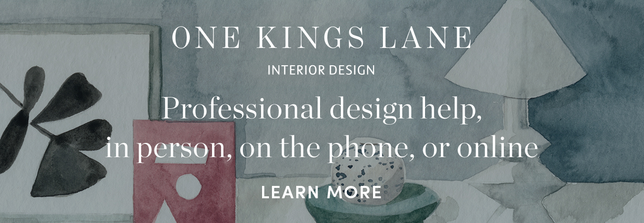 One Kings Lane Pre-footer Announcement