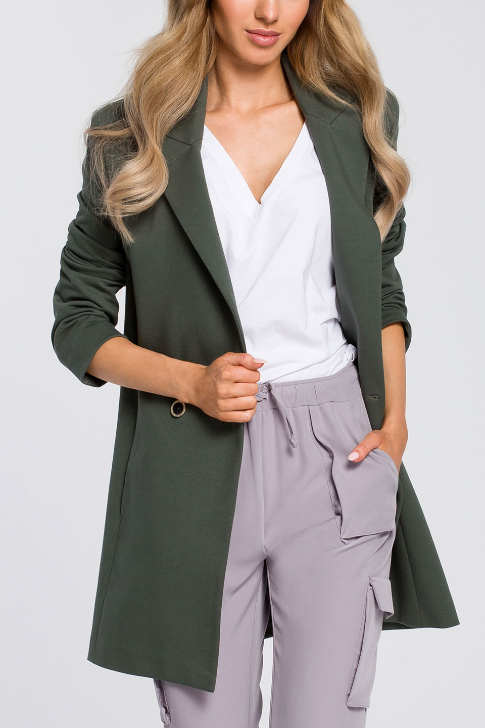 Missy Jacket in Military Green