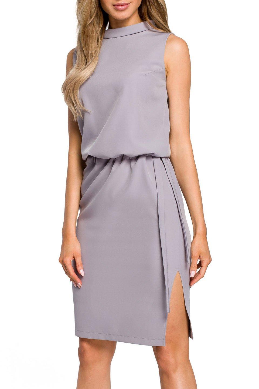 Petra Dress in Gray