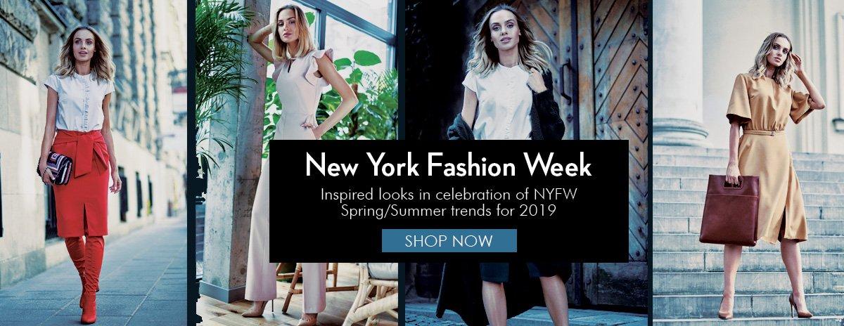 NEW YORK FASHION WEEK INSPIRED