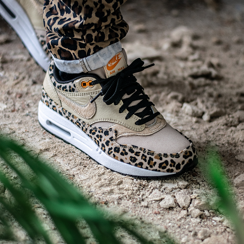 half off 9bb6f 465dd Nike presented the first part of their exclusive Animal Pack last week. Now  it s time for the most hyped version of them all  the Nike Air Max 1  Premium!