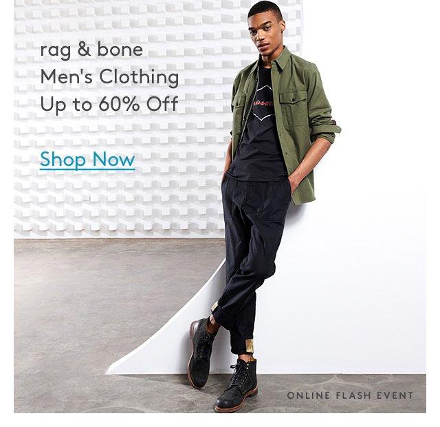 rag & bone | Men's Clothing | Up to 60% Off | Shop Now | Online Flash Event