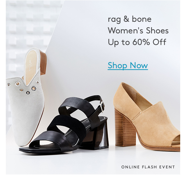 rag & bone | Women's Shoes | Up to 60% Off | Shop Now | Online Flash Event