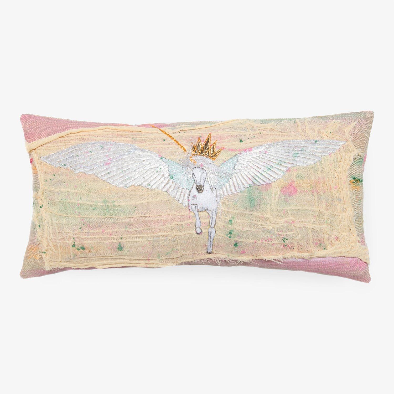 bokja falling star pillow - 12x24, neutral