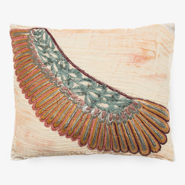 bokja angel wing pillow - 20x20, neutral