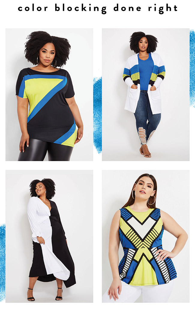 Color Blocking done right! - Shop Now