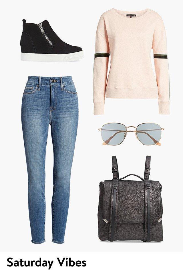 Saturday vibes: women's clothing.
