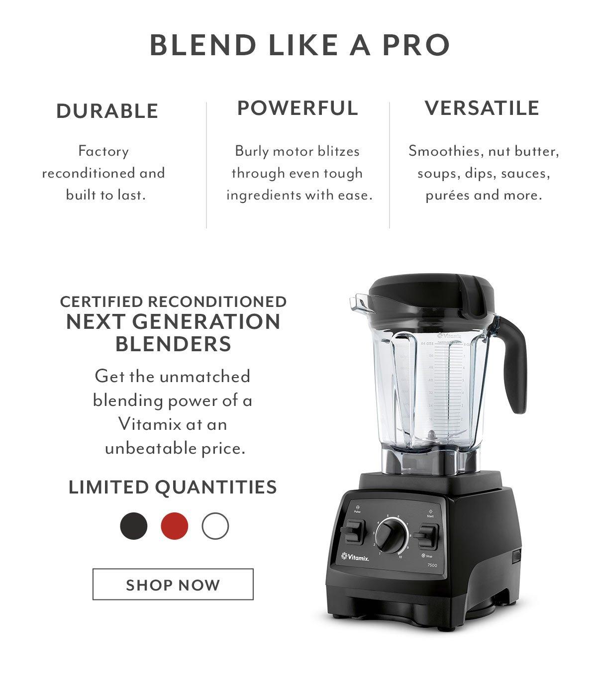Recon Vitamix 5300 Blender