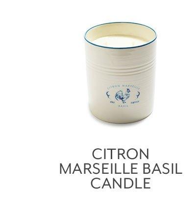 Citron Marseille Basil Candle