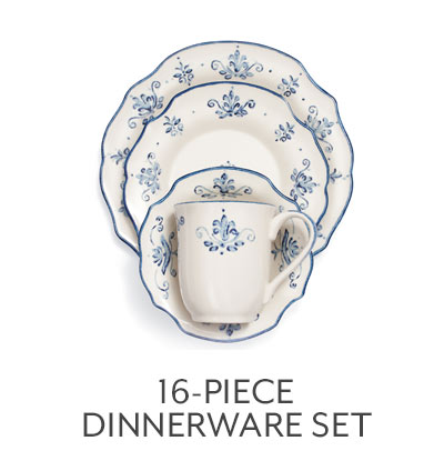 16-pc Dinnerware Set