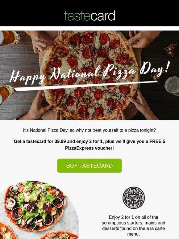 Taste Card Tastecard For 3999 Plus A Free Pizzaexpress