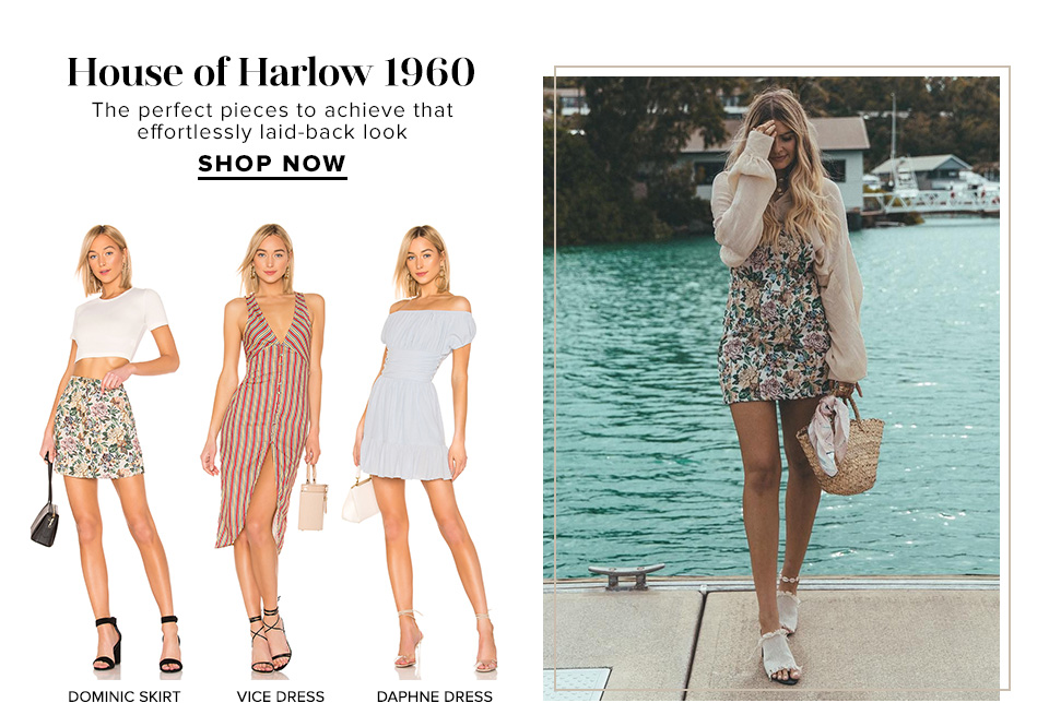 House of Harlow 1960. The perfect pieces to achieve that effortlessly laid-back look. Shop Now.