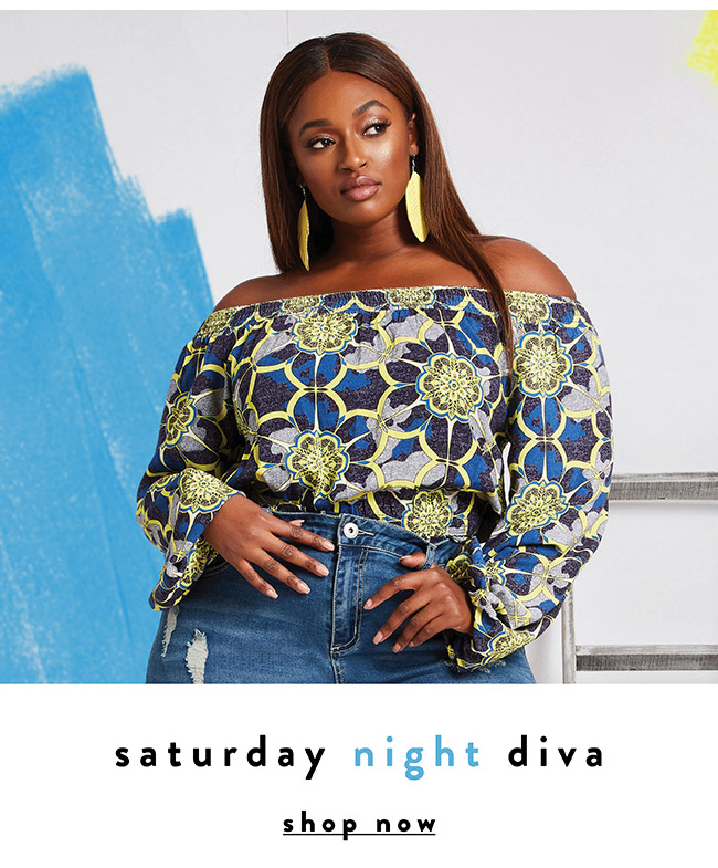 Saturday Night Diva - Shop Now