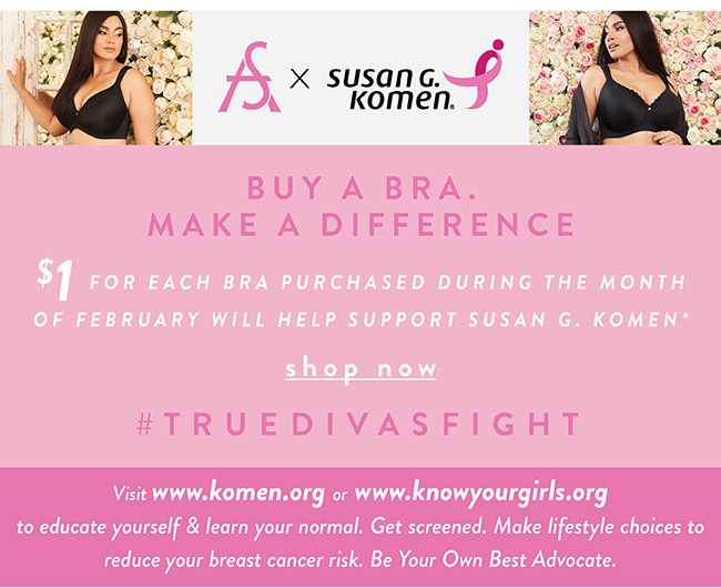 Buy a Bra. Make a difference - Shop Now