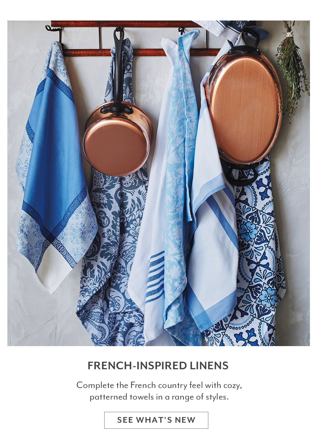 French-Inspired Linens