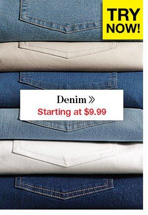 Shop Women's Denim!