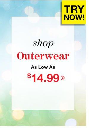 Shop Men's Outerwear!