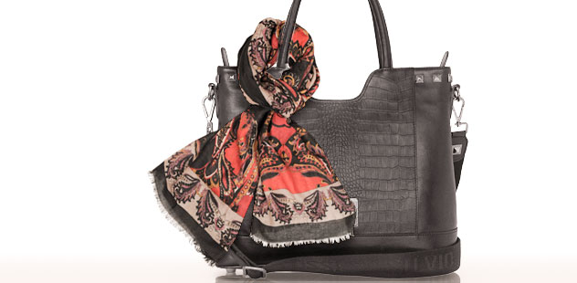 SILVIO TOSSI BAGS, WALLETS AND SHAWLS