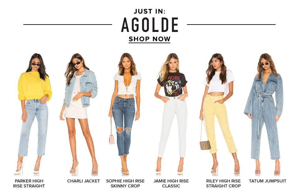 Just In: Agolde. Shop now.