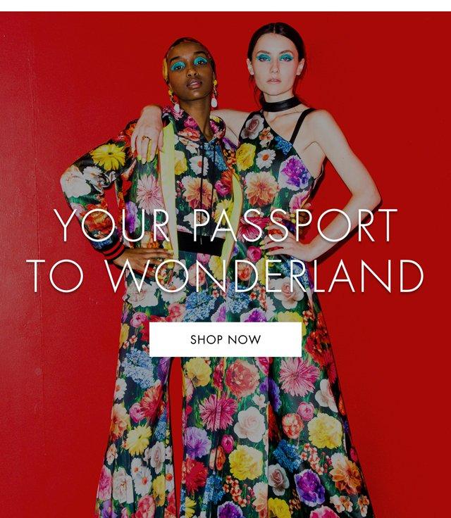 SHOP PASSPORT TO WONDERLAND