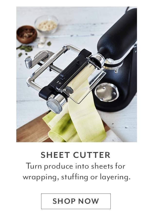 Vegetable Sheet Cutter Attachment