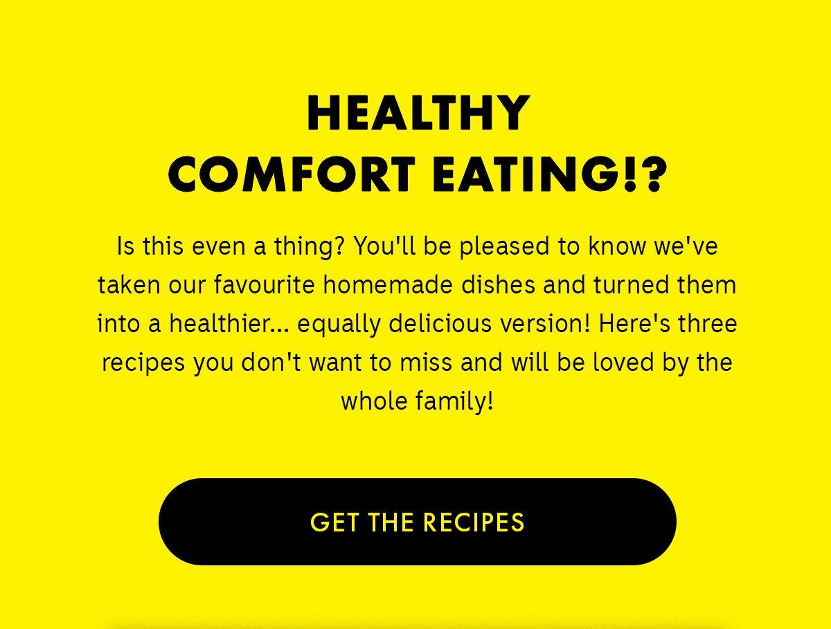 comfort eating top tips