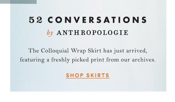 Shop skirts.