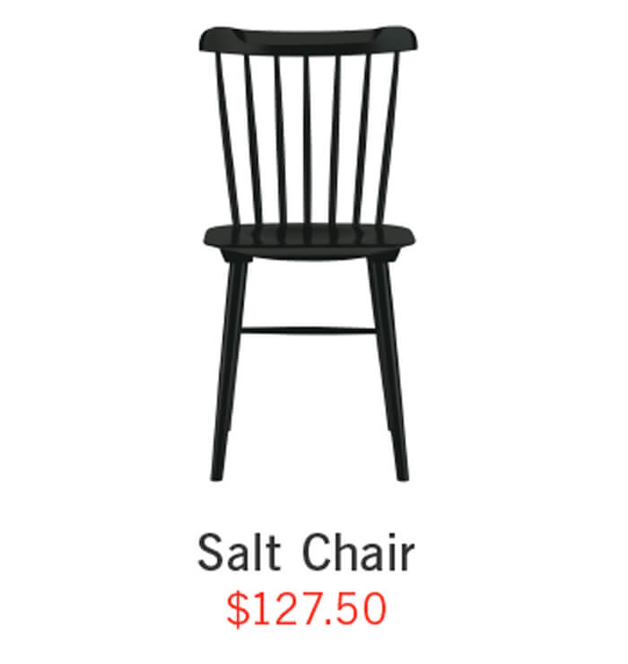 Salt Chair ›