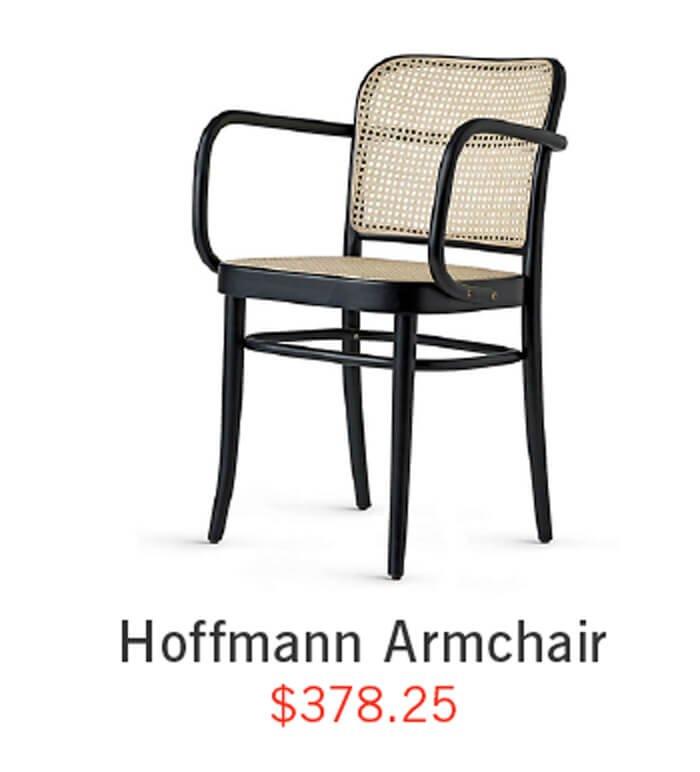 Hoffmann Armchair ›