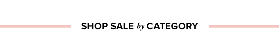 Shop Sale by Category