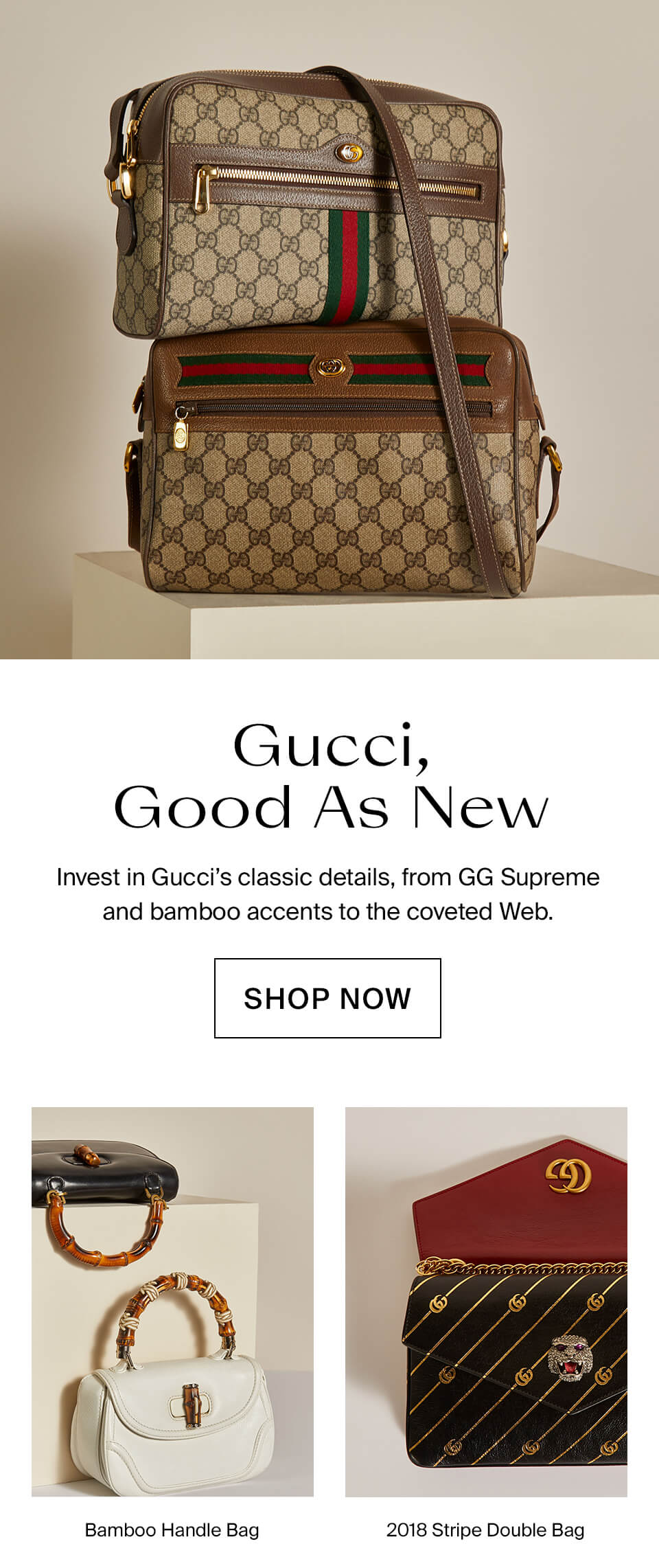 7157ec79175 The RealReal  G Is For Gucci