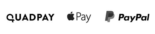 Apple Pay, Quadpay, Paypal