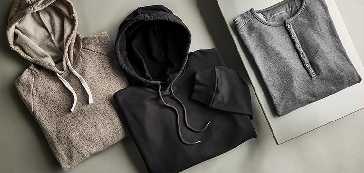 Wardrobe Staples: Hoodies & Henleys for Men
