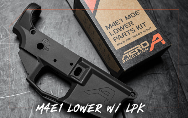 aero precision: M4E1 Lower w/ MOE® LPK minus FCG - ONLY