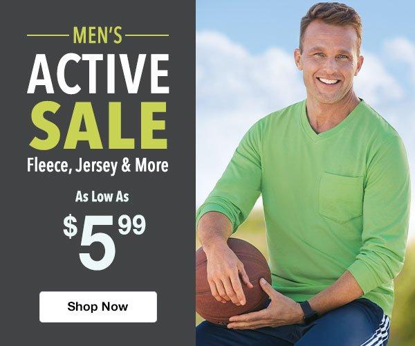 Shop Men's Activewear Sale!