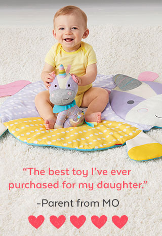 'The best toy I've ever purchased for my daughter.' - Parent from MO