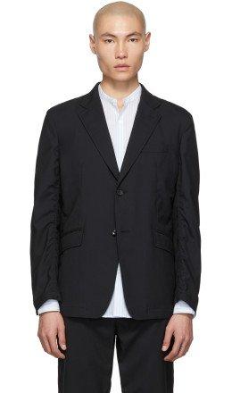 Comme des Garçons Homme - Black Tropical Wool Blazer