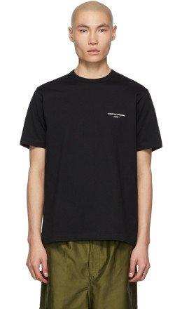 Comme des Garçons Homme - Black Logo T-Shirt