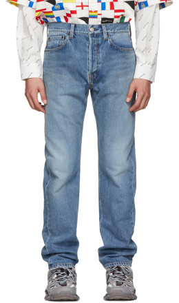 Balenciaga - Blue Standard Fit Jeans