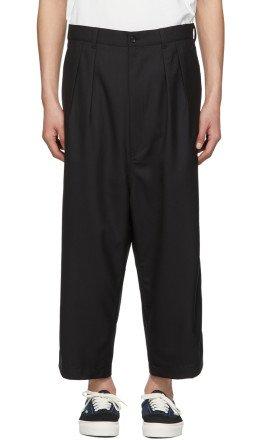 Comme des Garçons Homme - Black Cropped Trousers