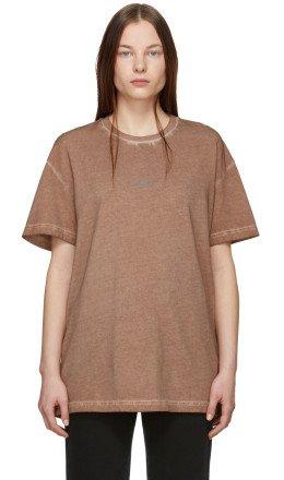 A-Cold-Wall* - Brown Bracket T-Shirt