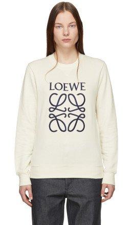 Loewe - Off-White Anagram Sweatshirt