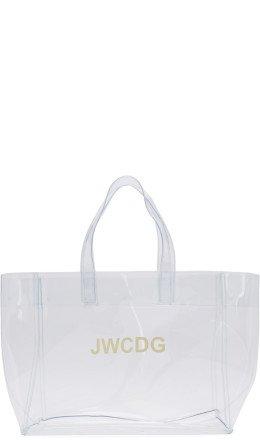 Junya Watanabe - Transparent 'JWCDG' Tote
