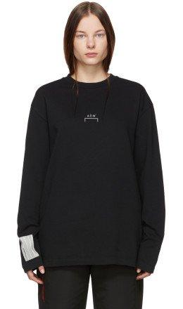 A-Cold-Wall* - Black Bracket Long Sleeve T-Shirt