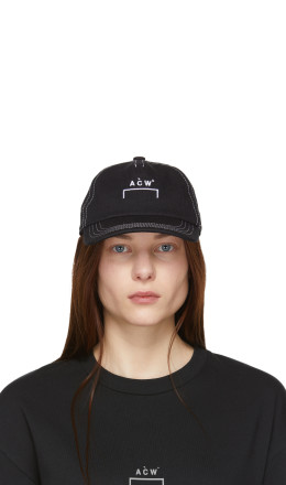 A-Cold-Wall* - Black Classic Logo Cap