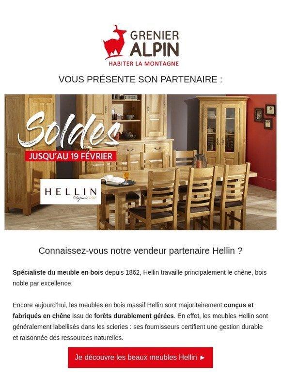 Grenier Alpin Com Decouvrez Les Meubles En Bois Hellin Chaises Tables Buffets Consoles Milled