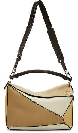 Loewe - Brown Puzzle Bag