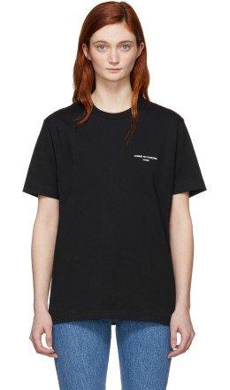 Comme des Garçons Homme Plus - Black Logo T-Shirt