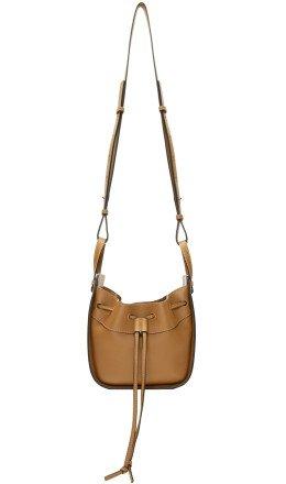 Loewe - Tan Mini Hammock Bag